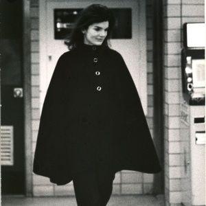 Vintage Jackie O style alpaca coat- great quality